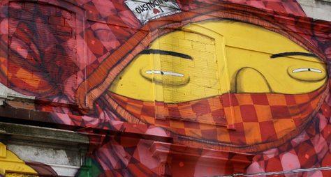 Уличное искусство Лиссабона