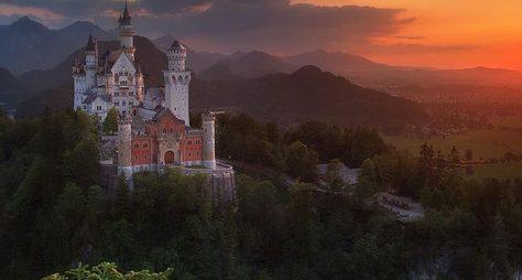 Замки баварских королей
