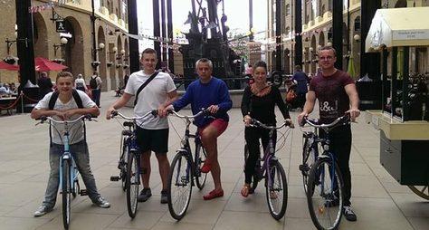 Велосипедный тур поЛондону