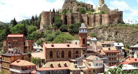 ВТбилиси— заполнотой впечатлений