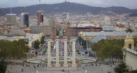 Вся Барселона заодин день