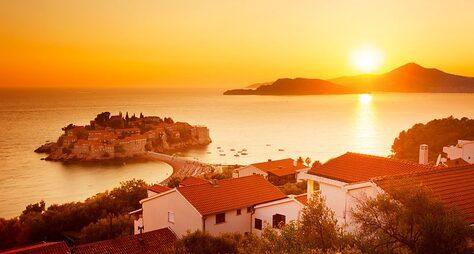 Открыть южное побережье Черногории