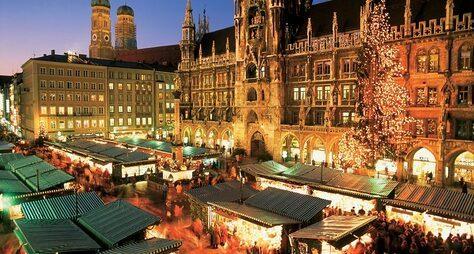 Рождественская сказка вМюнхене