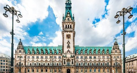 Гамбург— город мостов, моряков имиллионеров