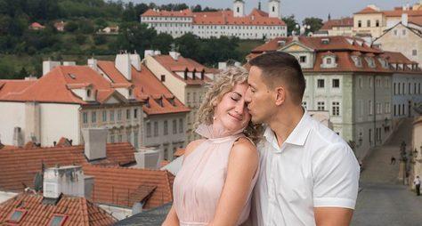 Экспресс-фотосессия всердце Праги