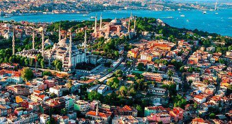 Европейский иАзиатский Стамбул наавто + круиз поБосфору