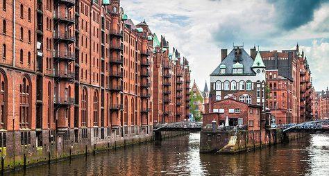 Мой любимый Гамбург: отцентра доокраин