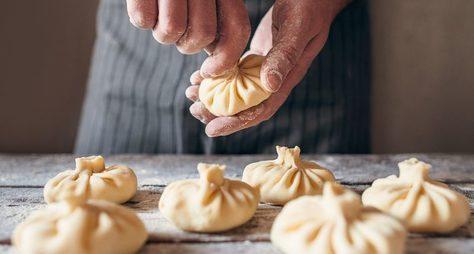 Онлайн мастер-класс грузинской кухни: готовим хинкали ихачапури!