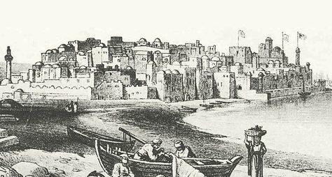 История древнего Яффо истарого Тель-Авива