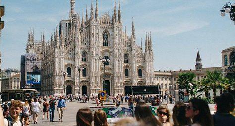 Футуристический Милан