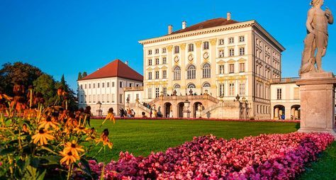 Нимфенбург— летняя резиденция баварских королей