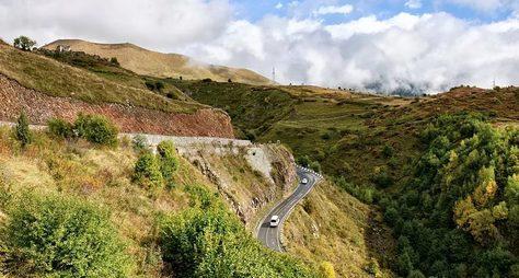 Путешествие поВоенно-Грузинской дороге