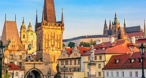 Волшебная изагадочная Прага