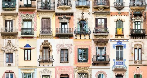 Винтажная Барселона
