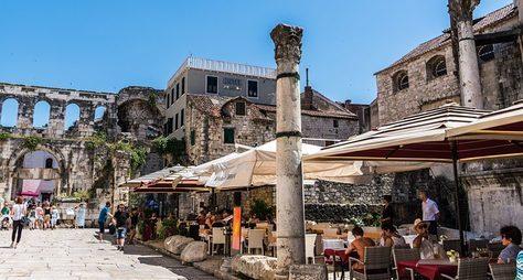 Сплит— город римлян иславян