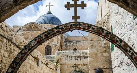 Иерусалим иВифлеем: земной путь Христа