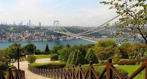 Стамбул как наладони