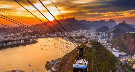 Наканатной дороге клучшим видам Рио!