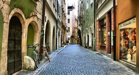 Регенсбург: древний исовременный