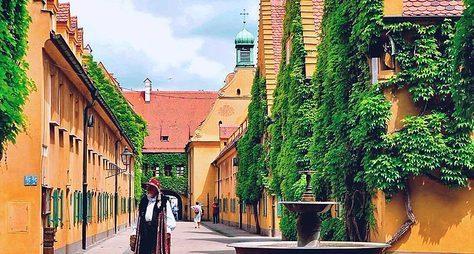Аугсбург— финансовый центр Европы 16 века