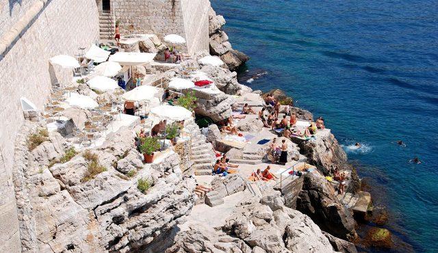 Пляж Бужа Дубровника